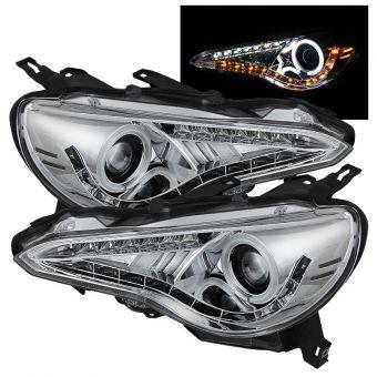 Spyder LED Headlight (Chrome) - 2013+ FR-S / BRZ