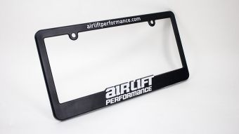 Air Lift License Plate Frame