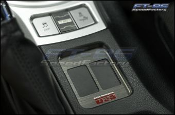 JDM Station TRD Style 2 Seat Heater Cover - 2013+ FR-S / BRZ / 86