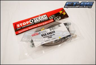StopTech Stainless Steel Brake Lines (Front) - 2013+ FR-S / BRZ