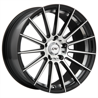 RADICAL WHEELS 17x7.5 +41MM (GLOSS BLACK) - 2013+ FR-S / BRZ