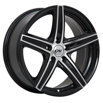 REVO WHEELS 17x7.5 +42MM (GLOSS BLACK) - 2013+ FR-S / BRZ