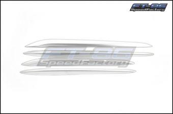 Subaru OEM Satin Silver Fender Blade Trim Covers - 2017+ BRZ