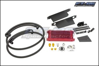 Greddy 10-Row C/S Oil Cooler Kit (Limited Red) - 2013+ FR-S / BRZ / 86