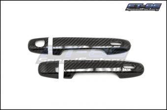 OLM S-Line Dry Carbon Fiber Door Handle Cover - 2013+ FRS / BRZ