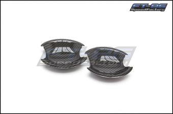OLM Dry Carbon Fiber Exterior Door Handle Insert - 2013+ FR-S / BRZ
