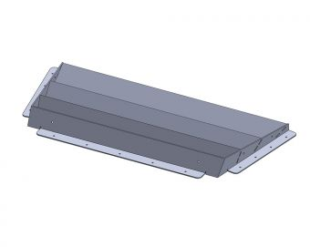 Ace Header 86 BRZ ENGINE HOOD LOUVER WITH RAIN COVER PLATE