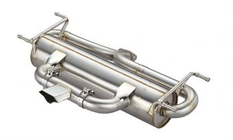 Ace Header CENTER EXIT MUFFLER
