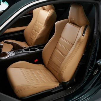 DAMD 86 Vantage Tan Seat Covers - 2013+ FR-S / BRZ
