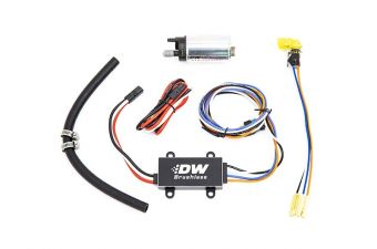 DEATSCHWERKS DW440 440LPH BRUSHLESS FUEL PUMP WITH SINGLE SPEED CONTROLLER Universal
