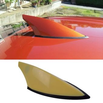 Ikon Motorsport Fits 12-16 Subaru BRZ Scion FRS GT86 Unpainted Roof Antenna Shark Fin Cover ABS