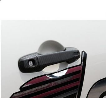 CUSCO CARBON FIBER DOOR HANDLE PROTECTOR - 2013+ FR-S / BRZ