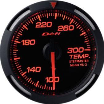 Defi Red Racer Temperature Gauge Imperial 52mm 100-300F