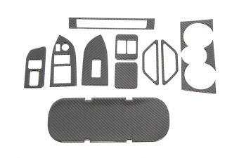 OLM CARBON FIBER INTERIOR DRESS UP KIT (12PC) PREMIUM RHD ONLY 2013-2021 Subaru BRZ / Toyota 8686