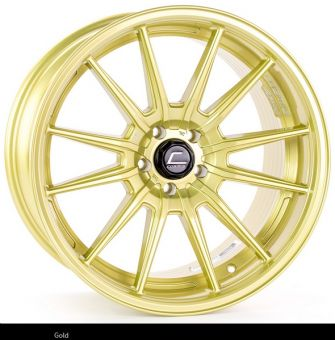 Cosmis Racing R1 PRO 18x10.5 +32mm 5x100 COLOR: Gold