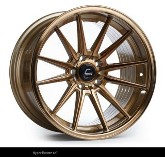 Cosmis Racing R1 PRO 18x10.5 +32mm 5x100 COLOR: Hyper Bronze