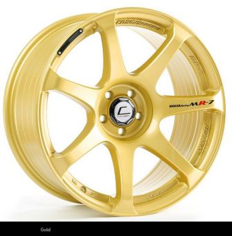 Cosmis Racing MR7 18x9 +25mm 5x100 COLOR: Gold