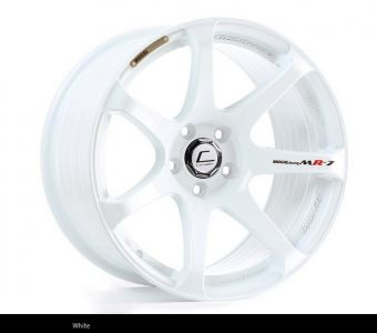 Cosmis Racing MR7 18x9 +25mm 5x100 COLOR: White