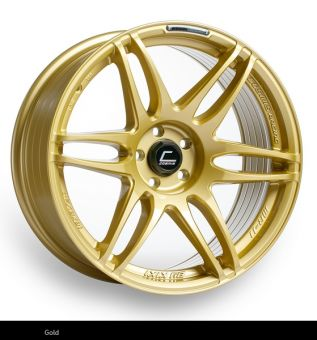 Cosmis Racing MRII 18x8.5 +22mm 5x100 COLOR: Gold