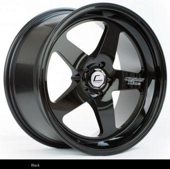 Cosmis Racing XT-005R 18x9 +25mm 5x100 COLOR: Black