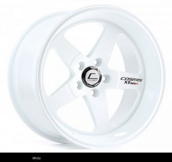Cosmis Racing XT-005R 18x9 +25mm 5x100 COLOR: White
