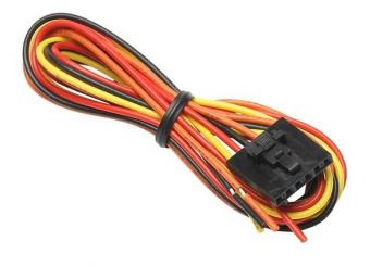 GlowShift Replacement 7 Color Series Volt & Clock Gauge Power Harness