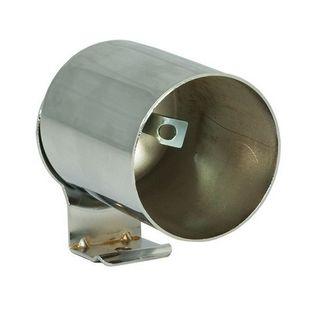 Glowshift Universal Single Gauge Chrome Pod