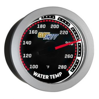 Glowshift Tinted Water Temperature Gauge