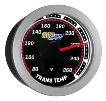 Glowshift Tinted Transmission Temperature Gauge