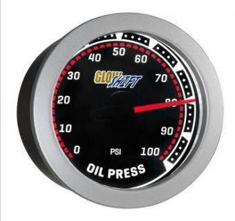 Glowshift Tinted Oil Pressure Gauge