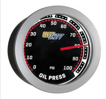 Glowshift Tinted Oil Pressure Gauge