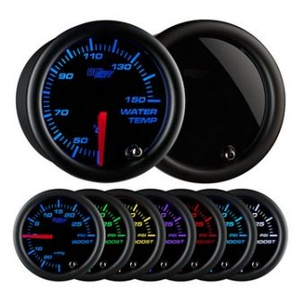 Glowshift Tinted 7 Color Celsius Water Temperature Gauge