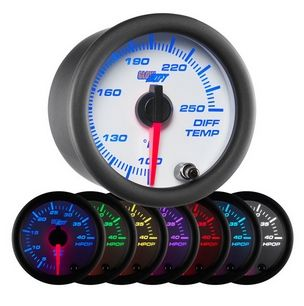 Glowshift White 7 Color Differential Temperature Gauge