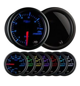 Glowshift Tinted 7 Color BAR Oil Pressure Gauge
