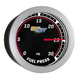Glowshift Tinted 30 PSI Fuel Pressure Gauge