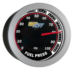 Glowshift Tinted 100 PSI Fuel Pressure Gauge