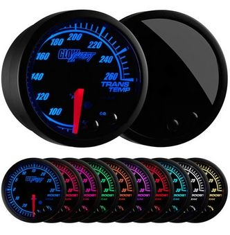 Glowshift Elite 10 Color Transmission Temperature Gauge