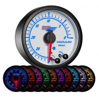 Glowshift White Elite 10 Color Vacuum Gauge