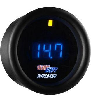 Glowshift Black 7 Series Digital Wideband Air/Fuel Ratio Gauge