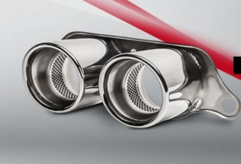 Akrapovic Porsche 911 GT3 RS (991) 2014 Tail pipe set (Titanium)