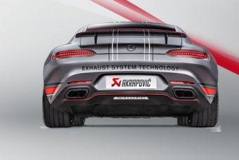 Akrapovic Mercedes-AMG GT (C190) / GT Roadster (R190) / GT S (C120) / GT C Roadster (R120) 2015 Evolution Line (Titanium)
