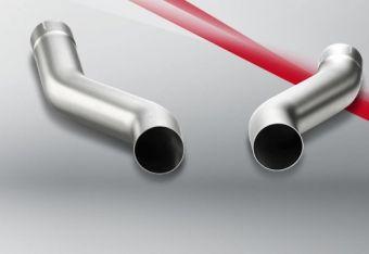Akrapovic Porsche Cayenne S Diesel (958) 2012 Link pipe (Titanium)