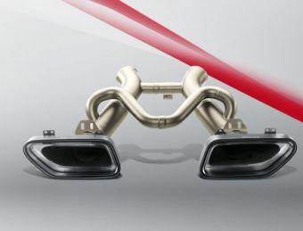 Akrapovic McLaren 12C / 12C SPIDER 2012 Slip-On Line (Titanium)