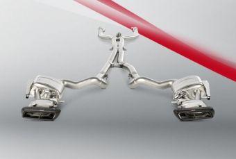Akrapovic Mercedes-AMG C 63 Sedan (W205) 2015 Evolution Link Pipe Set (Titanium)