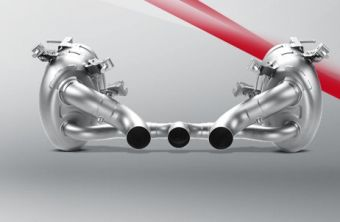 Akrapovic Ferrari 458 Italia/458 Spider 2010 Slip-On Line (Titanium)