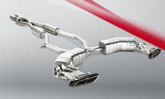 Akrapovic Mercedes-AMG S 63 Coupé (C217) 2015 Evolution Line (Titanium)