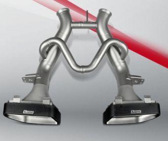 Akrapovic McLaren 650S / 650S SPIDER 2014 Slip-On Line (Titanium)