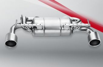 Akrapovic Nissan 370Z 2009 Slip-On Line (SS)