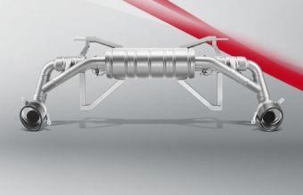 Akrapovic Audi R8 5.2 FSI Coupé/Spyder 2013 Slip-On Line (Titanium)