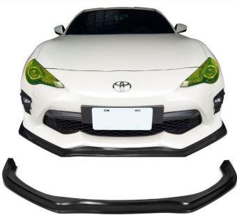 Ikon Motorsports 17-19 Toyota 86 Front Bumper Lip CS Style Unpainted PU